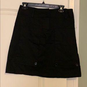 Sharagano studio black skirt